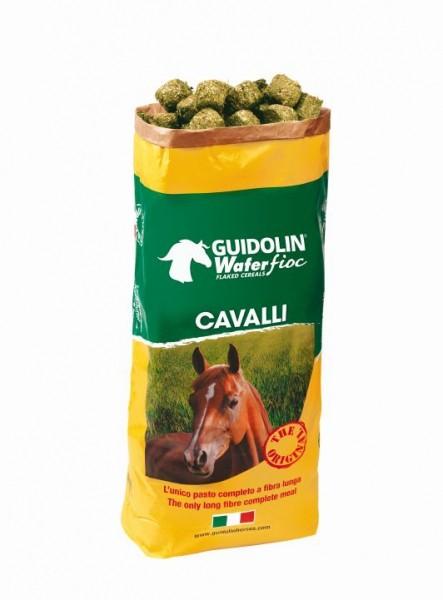 Guidolin Wafer Fioc für Pferde unser Klassiker 20 kg Sack HERVORRAGENDER ERSATZ FÜR GUTES HEU