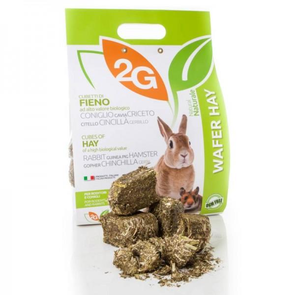 Kaninchen- und Nagerfutter Wafer Hay Abverkauf solange der Vorrat reicht
