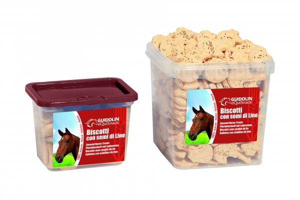 Pferdeleckerli mit Leinsamen 2,5kg