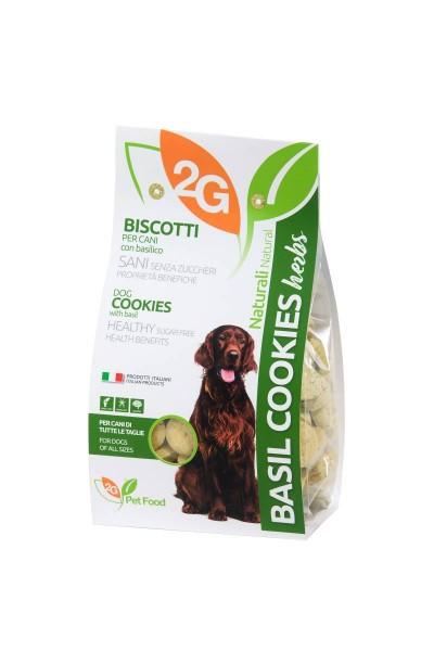 Basilikum Cookies herbs ohne Zucker 350g