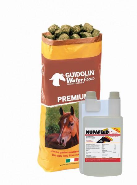 Frühjahrs Angebot Wafer Fioc Premium 20kg +Nuppafeed L-Carnitin 1 Liter